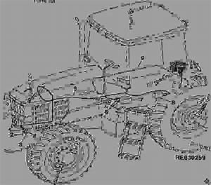 Triple Link Suspension Wiring Harness - Tractor John Deere 7810 - Tractor