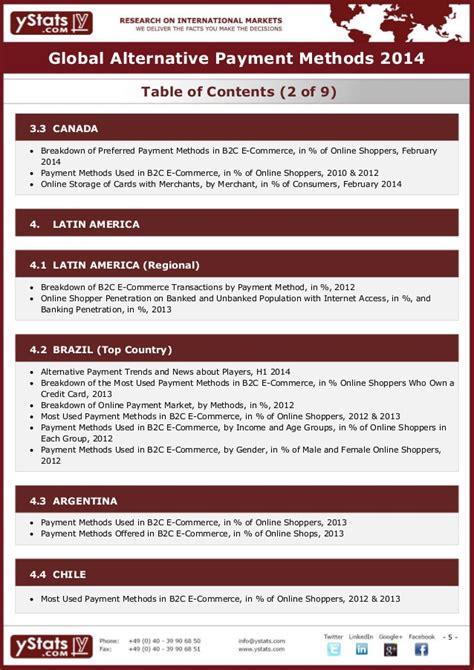 5 alternative methods to storing global alternative payment methods 2014