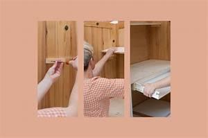 Comment Transformer Une Armoire Ancienne : transformer une armoire en secr taire galerie photos d 39 article 8 13 ~ Melissatoandfro.com Idées de Décoration
