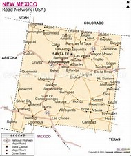 Best Ideas About Road Map Find What Youll Love - New mexico road map