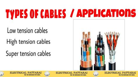 Types Of Cables Used In Transmission System