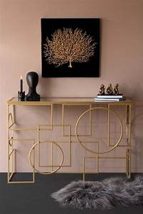 Geometric, Style, Mirror, Console, Table