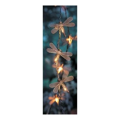 dragonfly outdoor string lights 10 bulb dragonfly string light set outdoor lighting for