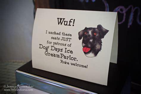 dog days ice cream parlor  chesterton indiana year