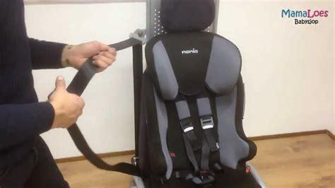 autostoel monteren nania racer sp mamaloes babysjop