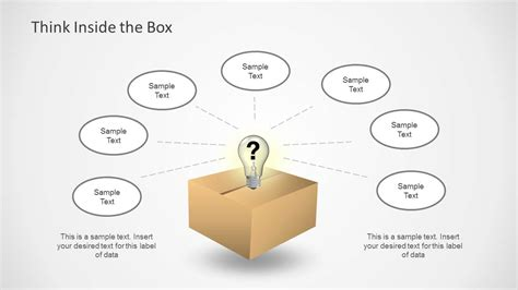 Think Inside The Box by Think Inside Outside The Box Template For Powerpoint