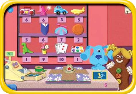 preschool computer activities tlc blue s clues preschool learning system 2008 252