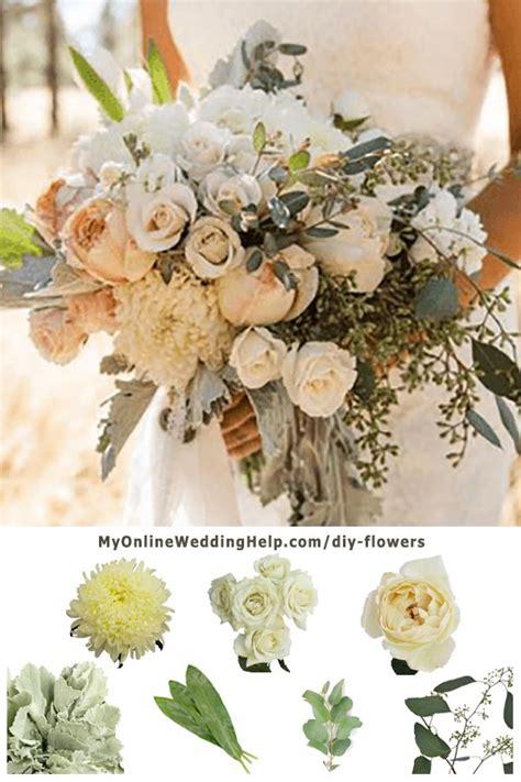 diy real wedding flowers   wedding