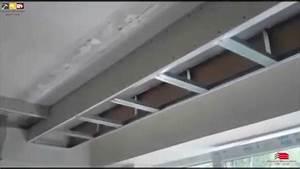 Decoration Faux Plafond : travaux decoration faux plafond placo platre ba13 alger algerie youtube ~ Melissatoandfro.com Idées de Décoration