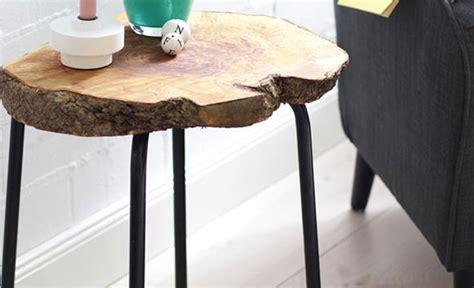 tisch aus baumscheibe tisch mit baumscheibe basteln basteln selbst de