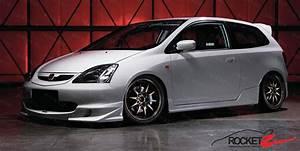Honda Civic Ep3 : 01 03 honda civic hatchback si ep3 mugen style frp front ~ Kayakingforconservation.com Haus und Dekorationen