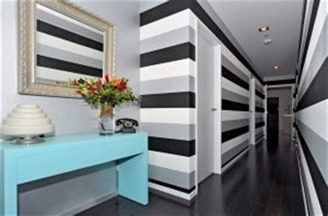 spare  thought  striped wallpaper decorating paint