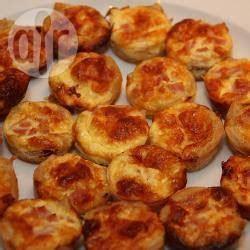 recette mini quiches lorraine sans p 226 te toutes les recettes allrecipes