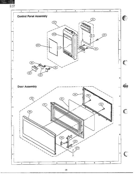 Ge Side By Side Wiring Diagram by Ge Side By Refrigerator Parts Diagram Wiring Diagrams