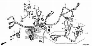 Honda Afs110 Wave 2012 Wire Harness Supplied Next Day  Uk