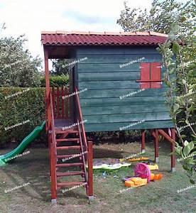 Cabane En Bois Pour Enfant : bricolage fabriquer maison en bois pour enfants ~ Dailycaller-alerts.com Idées de Décoration