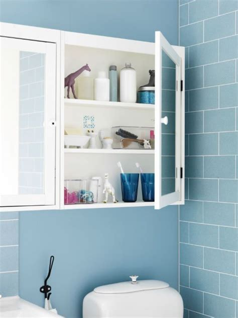 Bathroom Mirrors Ikea Dublin by Use The Silveran Mirror Cabinet To Keep Counter Tops Clear