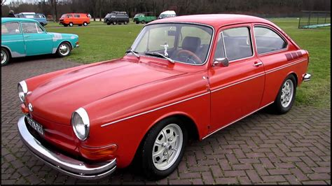 Vw Type 3 Fastback Red @ Kwf Rosmalen 2012