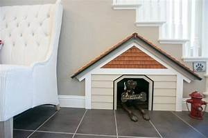great idea for family pets indoor dog house built in With indoor dog house with stairs