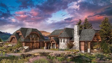 Luxury Log Cabin Home Floor Plans Luxury Mountain Log ...