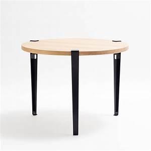 Table Ronde Haute : table ronde mi haute 80cm tiptoe ~ Teatrodelosmanantiales.com Idées de Décoration