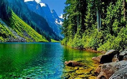 Desktop Scenery Mountain Landscape River