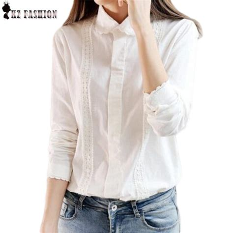 white button up blouse white blouse work wear button up lace turn