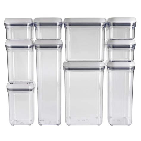 costco storage containers 10 pop container set oxo