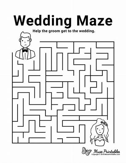 Maze Mazes Printable Activities Activity Coloring Pages