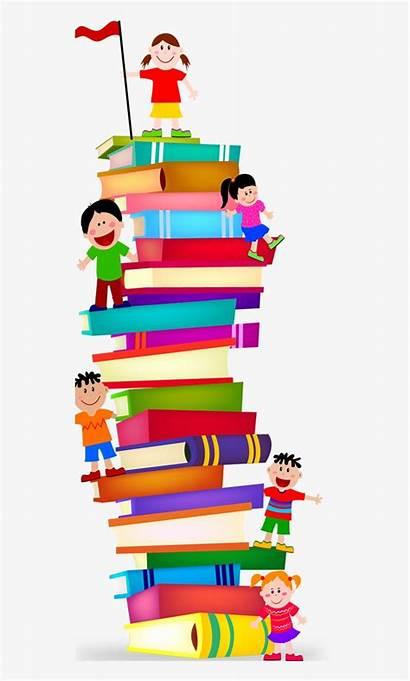 Clipart Preschool Clip Stack Books Transparent Seekpng