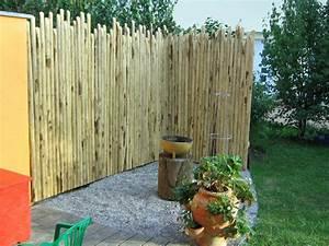 Garten sichtschutz selber bauen frisch terrassen for Feuerstelle garten mit paravent sichtschutz balkon