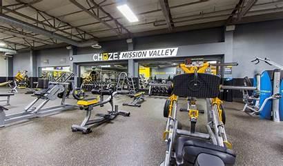 Mission Valley Gym Chuze Fitness Diego San