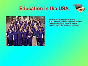 The System Of Education In The Usa