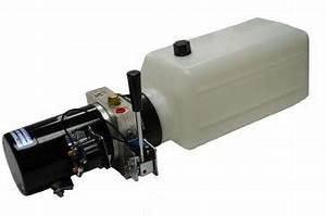 12v Dc Hydraulic Power Unit 1 2 Gpm   1500 Psi
