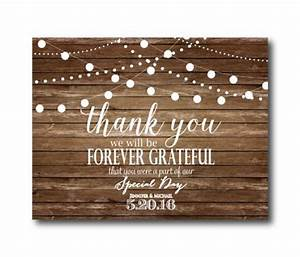 rustic wedding thank you card country chic hanging With cheap wedding invitations and thank you cards