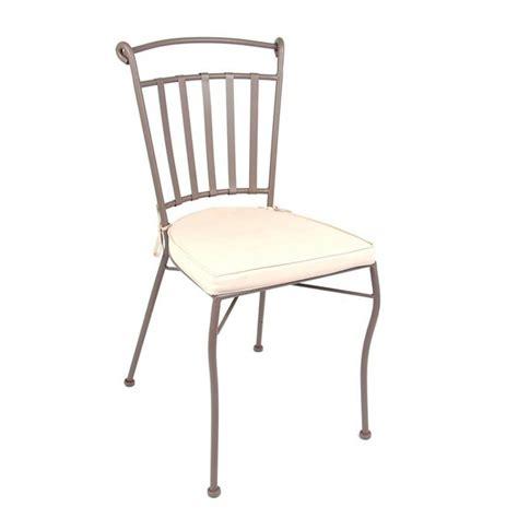 chaises en fer forgé chaise achat chaise en fer forgé avec coussin