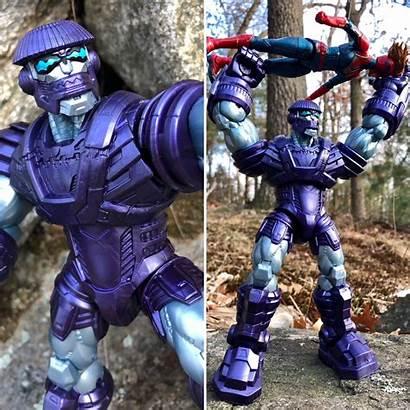 Marvel Kree Legends Sentry Figure Build Captain