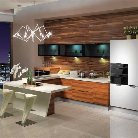 mdf quartz stone modern kitchen cabinets guangzhou