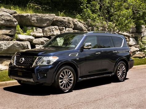 nissan armada review pricing  specs