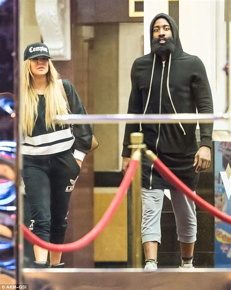 Khloe Kardashian and James Harden pack on the PDA at UFC ...