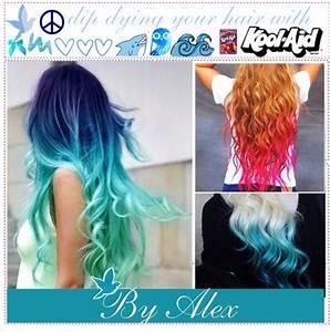 Diy Dye Ur Hair With Kool Aidud83dude0dud83dude0dud83dude0dud83dude0d Trusper