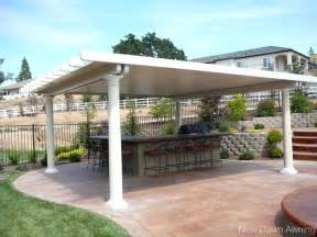 Diy Awnings For Decks by Freestanding Patio Covers Sacramento Patio Covers