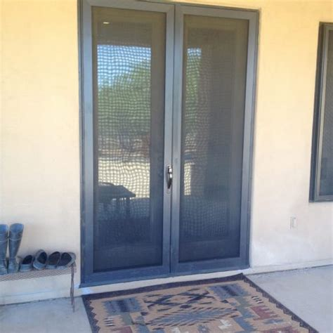 french doors security screen masters