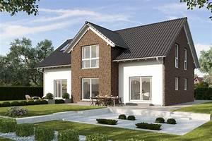 Haus Mit Satteldach : fertighaus mit einliegerwohnung gussek haus ~ Watch28wear.com Haus und Dekorationen