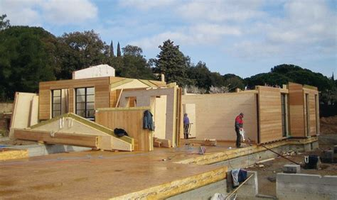 maison bois autoconstruction prix fabricant maison ossature bois en kit boismaison
