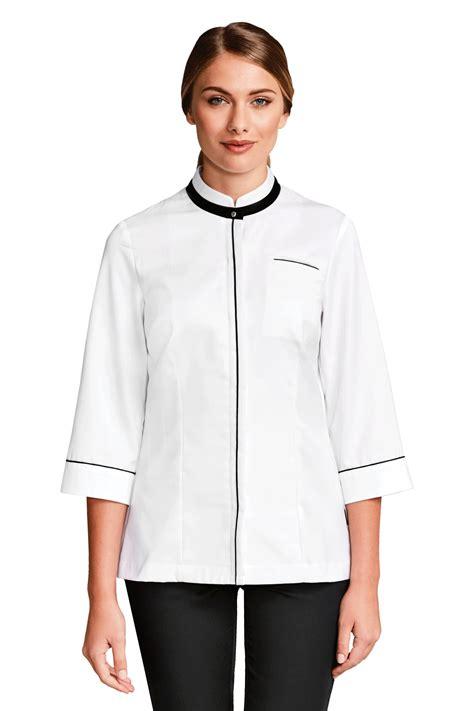 veste cuisine bragard veste chef cuisine femme ania blanche