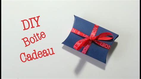 diy noel boite cadeau en papier