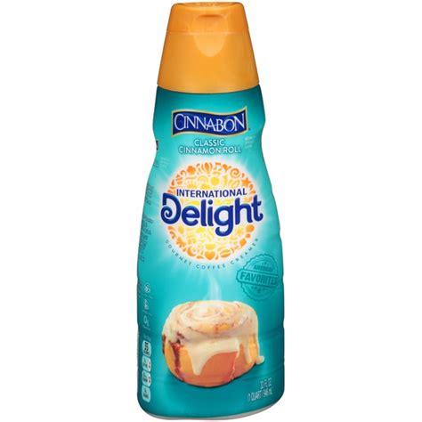 I put cream in my coffee. International Delight Cinnabon Classic Cinnamon Roll Coffee Creamer from Harris Teeter - Instacart