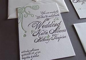 thomas printers invitations affordable letterpress With spanish moss wedding invitations