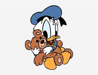Duck Bear Donald Disney Clipart Polar Teddy